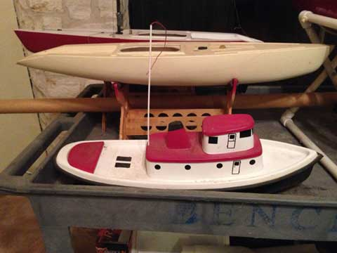 Remote Control Victoria sailboats sailboat