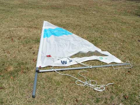 Walker Bay Dinghy, 8 ft., sailboat