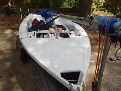 Wayfarer 16, 2013 sailboat