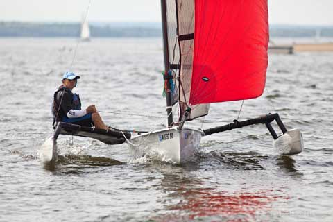 Weta 4.4, 2009 sailboat