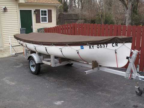 Whitehall style rowing boat, 2010 sailboat