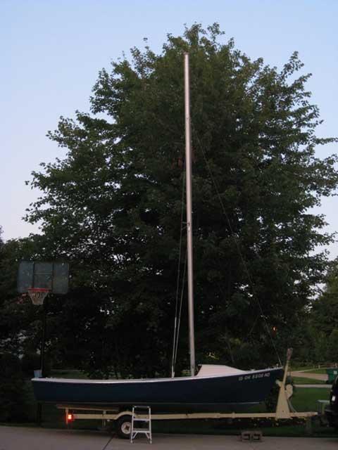 Windjammer 17', 1967 sailboat