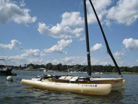 Windrider 17, Trimaran, 2002 sailboat