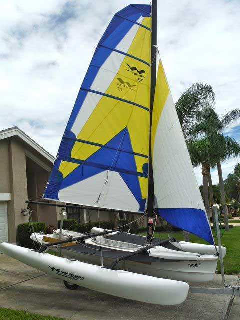 WindRider 17 Trimaran, 2013 sailboat