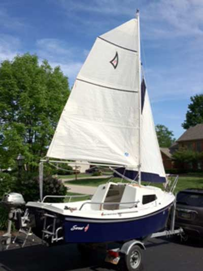 West Wight Potter 15, 2001 sailboat