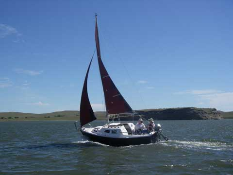 West Wight Potter 19, 2009 sailboat