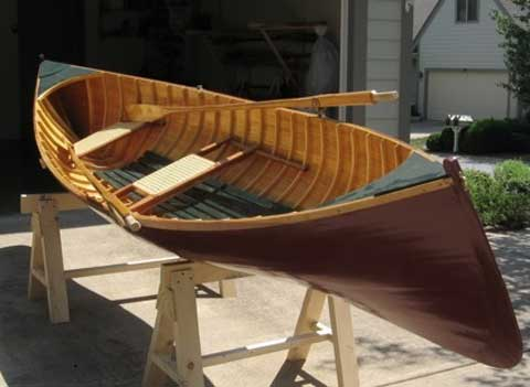 Adirondack Guide Boat. 15ft., 2010 sailboat