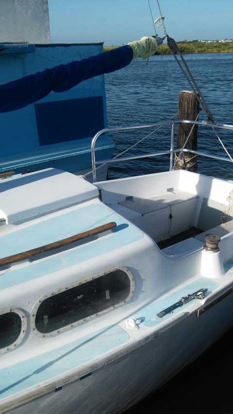 Alacrity 19', 1984 sailboat