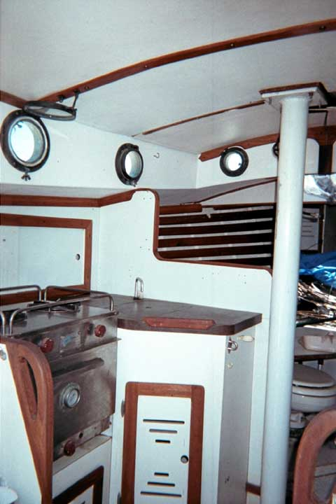 Aquarius Pilot Cutter, 24 ft., 1980 sailboat