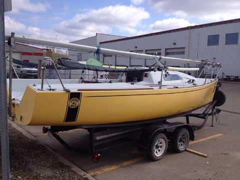 B25 Hull #10, 1990 sailboat