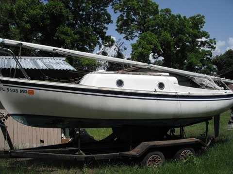 Balboa 21, 1975 sailboat