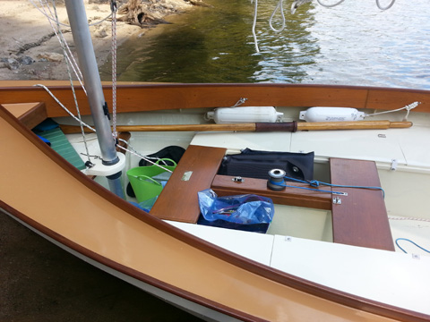 Beachcomber Dory. Rebuilt 2015 sailboat