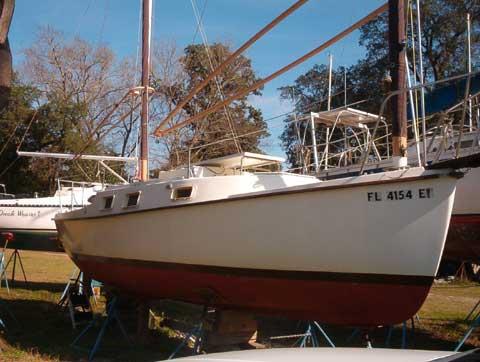 Beachcomber 25, 1980 sailboat