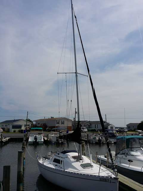 Beneteau First 235 with Trailer, 1989 sailboat