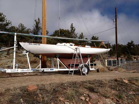 McVay Bluenose 24, 1975 sailboat