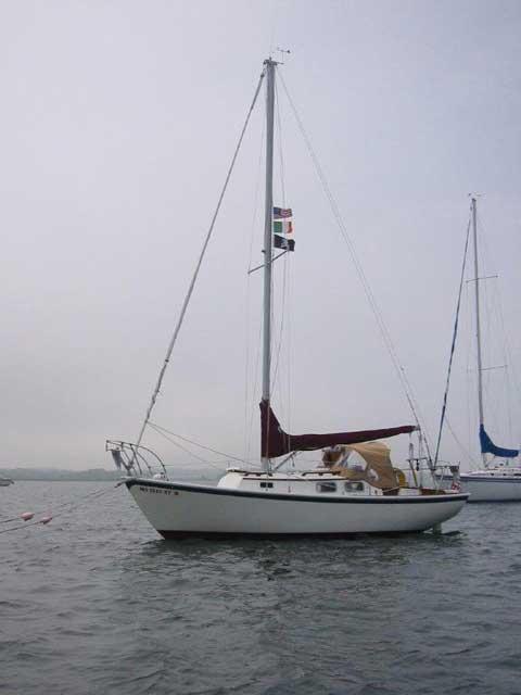 Bristol 'Corsair' 24 ft., 1978 sailboat