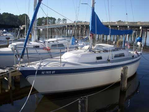 Cal 2-25 (25ft,, 1981 sailboat
