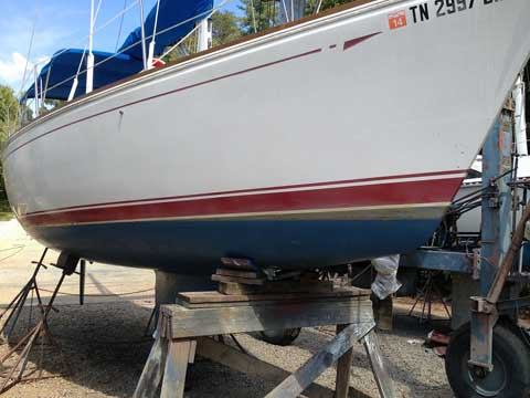 Cal 28, 1986 sailboat