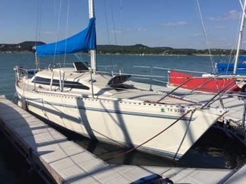 Cal 9.2, 30ft., 1983 sailboat
