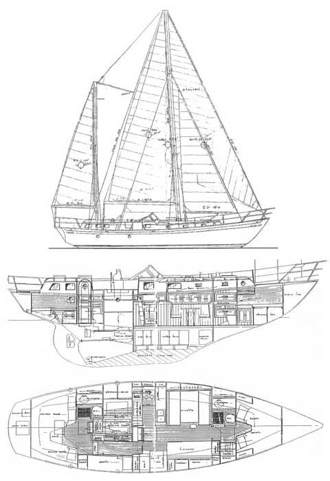 C&L Explorer, 45', 1979 sailboat