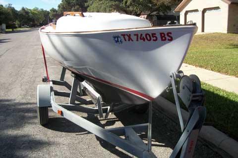 Cape Cod Bullseye 1958 San Antonio Texas Sailboat For