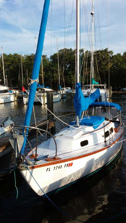 Cape Dory 25, 1973 sailboat