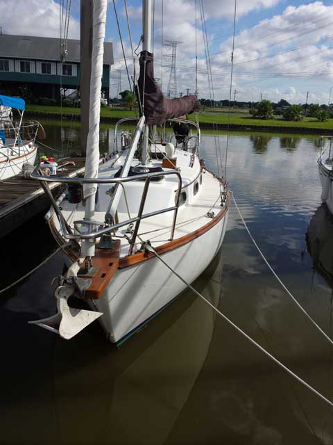 Cape Dory 28 1984 Kemah Texas Sailboat For Sale From