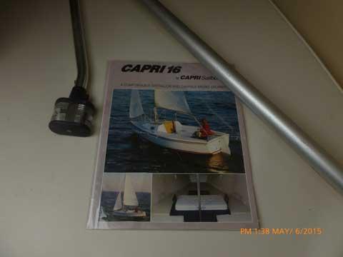 Catalina Capri 16, 1990 sailboat