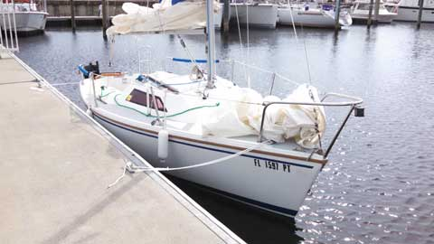 Capri 18, 1989 sailboat