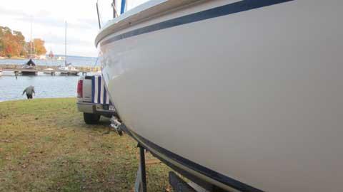 Capri 22, 1988 sailboat