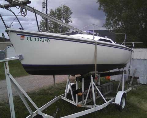Catalina Capri 22 1991 sailboat