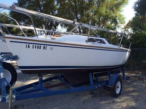 Catalina 18, 1989 sailboat