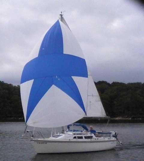 Catalina 22 (new model) Wing Keel, 1988 sailboat