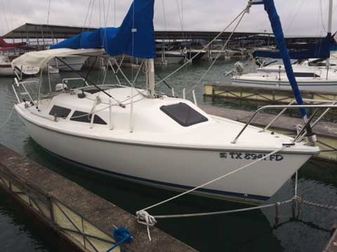 Catalina 22 For Sale >> Catalina 22 Wing Keel, 1995, San Antonio, Texas, sailboat for sale from Sailing Texas, yacht for ...