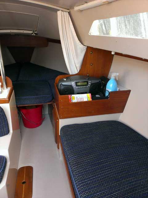 Catalina 22, 1986 sailboat