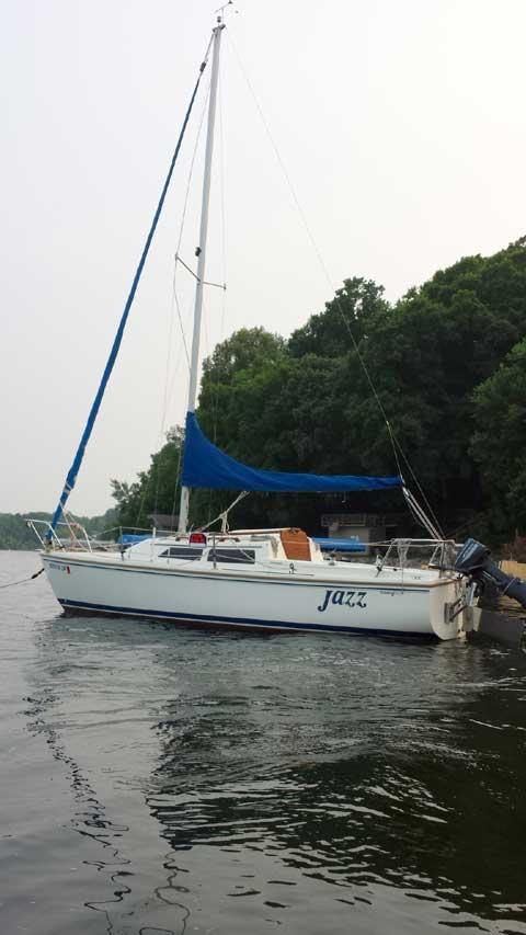 Catalina 22, 1990 sailboat