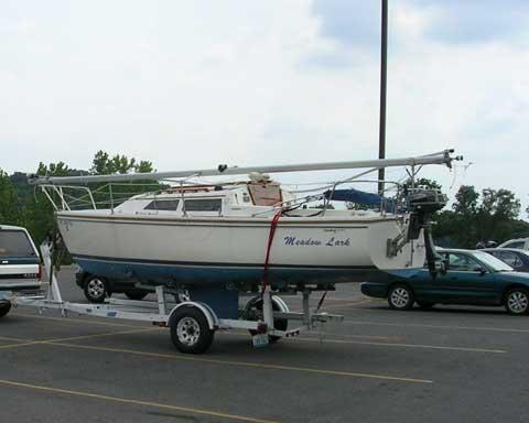 Catalina 22, 1989 sailboat