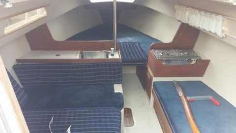 Catalina 22 1985 sailboat