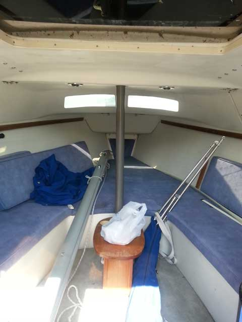 Catalina 250, 1995 sailboat