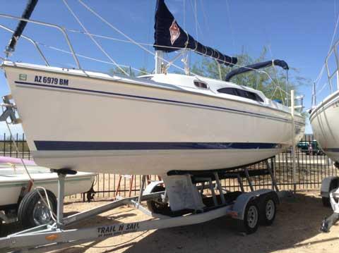 Catalina 250, 2008, Lake Pleasant, Arizona, sailboat for