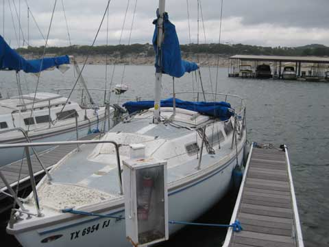 Catalina 25', 1980 sailboat