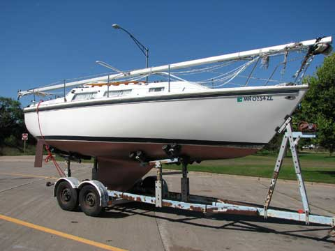 Catalina 25 1978 Marquette Michigan Sailboat For Sale