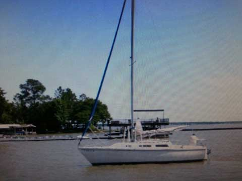 Catallina 25, 1985 sailboat