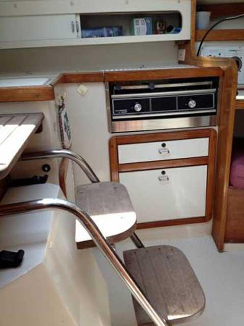 Catalina 270 LE, 1993 sailboat