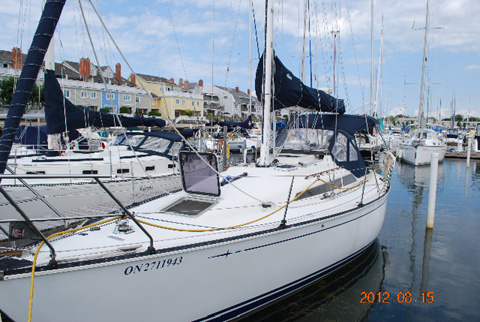 C & C 34+, 1990 sailboat