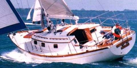 Cheoy Lee Offshore 41', 1977 sailboat