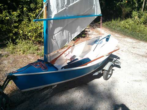 Chesapeake Light Craft sailboat