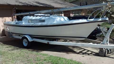 Clipper Marine 21, 1973, Benbrook, Texas sailboat