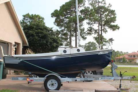 Com Pac 16, 1977 sailboat