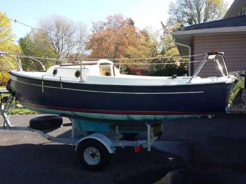 Com-Pac 16, 2002 sailboat